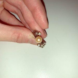 Vantel Pearls Abundance Ring